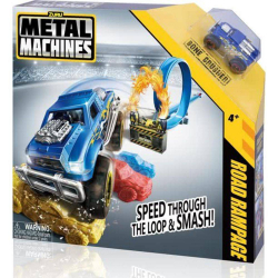 Pista com Veiculo - Metal Machines - Road Rampage - Candide
