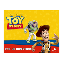 Livro Pop-Up - Toy Story 3 - Disney-Pixar - Culturama