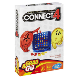 Jogo - Connect 4 - Grab and Go - Hasbro