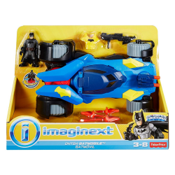 Imaginext - Veiculo Interativo - Super Batmovel - DC Comics - Mattel