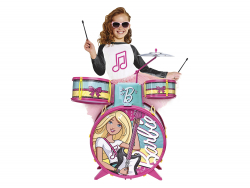Bateria Fabulosa da Barbie - FUN