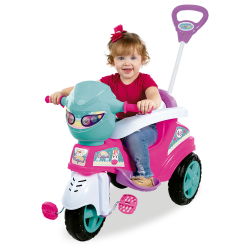 TRICICLO BABY CITY ROSA MARAL