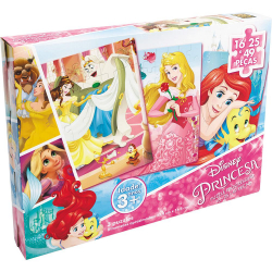 Puzzle - Progressivo - Princesas - Disney - Grow