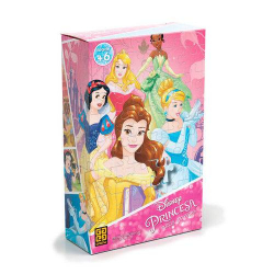 Puzzle - Princesas - 100 pecas - Disney - Grow