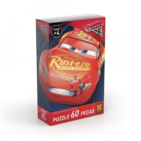 Puzzle - Cars - 60 pecas - Disney-Pixar - Grow