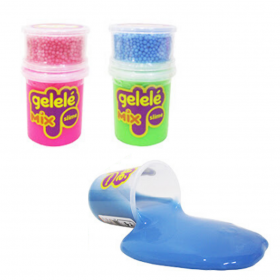 Slime gelele - mix foam - sortidos - WS Toys