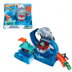 Hot Wheels - City - ataque do tubarao robo - Mattel
