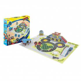 Play set - circuito de aventuras do Mickey - Disney - Xalingo