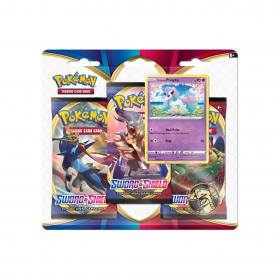 Pokemon - Blister de cartas triplo - Sword and shield - sortidos - Copag