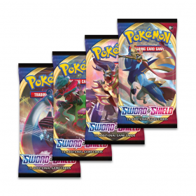 Pokemon - booster de cartas - Sword and Shield - Copag
