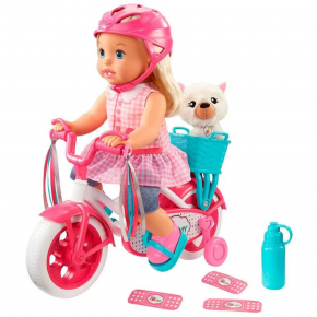 Little Mommy - Primeiro Passeio de Bike - Mattel