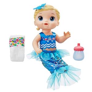 0d0bf742bb Boneca Baby Alive - Linda Sereia - Loira - Hasbro
