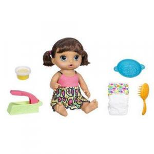 51a0455e07 Boneca Baby Alive - Hora do Espaguete - Morena - Hasbro