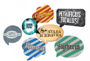 Harry Potter - Placas Divertidas - embalagem com 09un - Festcolor
