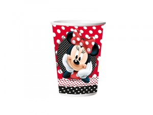 Minnie Mouse - Copo de Papel - 180ml - embalagem com 08un - Disney Juniors - Regina